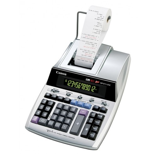 Calculadora c/ Rolo Impressão 12 Dígitos MP1211-LTSC - CANON
