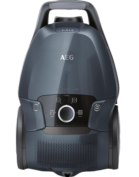 Aspirador c/ Saco 650W A+ 5L (Preto/Azul) - AEG