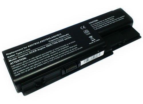 Bateria p/ Portátil Compatível Acer Aspire 5200mAh 14.8V SERIES 5220G 5310 5315 5520 5710
