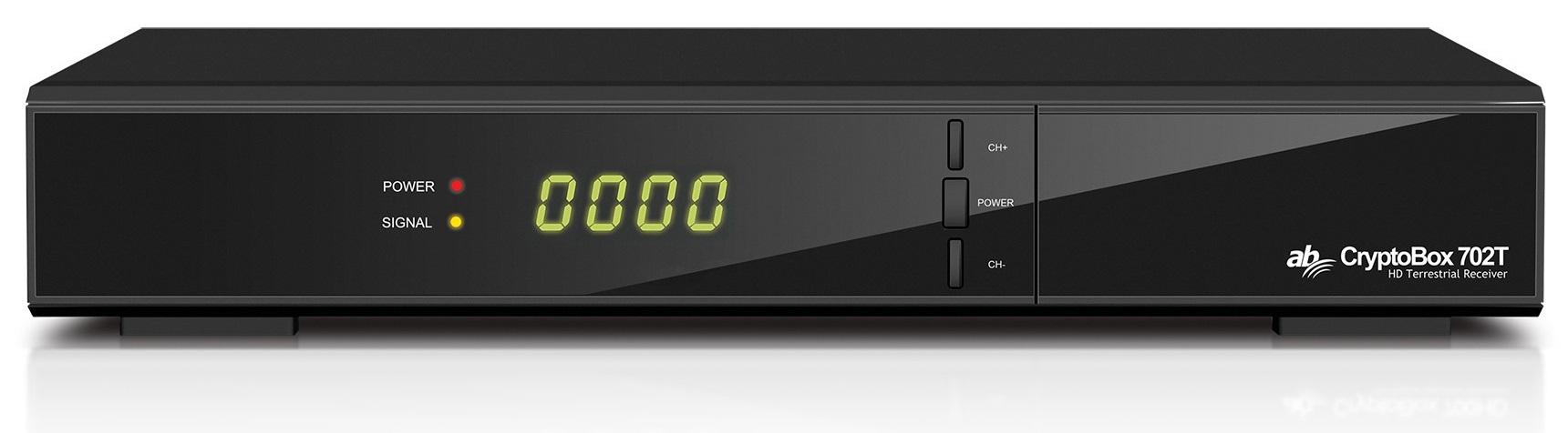 Receptor Cabo+TDT (DVB-T/DVB-T2/DVB-C) Full HD 1080p - CRYPTOBOX 702T
