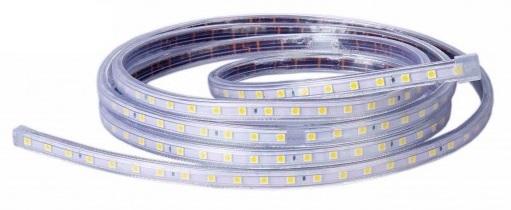 Fita 120 LEDs SMD3014 Flexivel IP65 Branco Frio 4000K 220V 750Lm (metro)