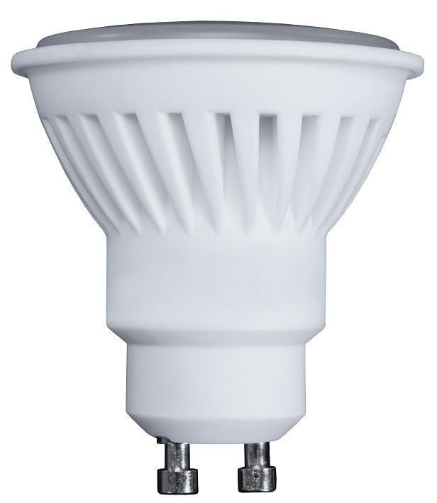 Lampada LED Cerâmica 220V GU10 10W Branco Q. 3000K 900Lm