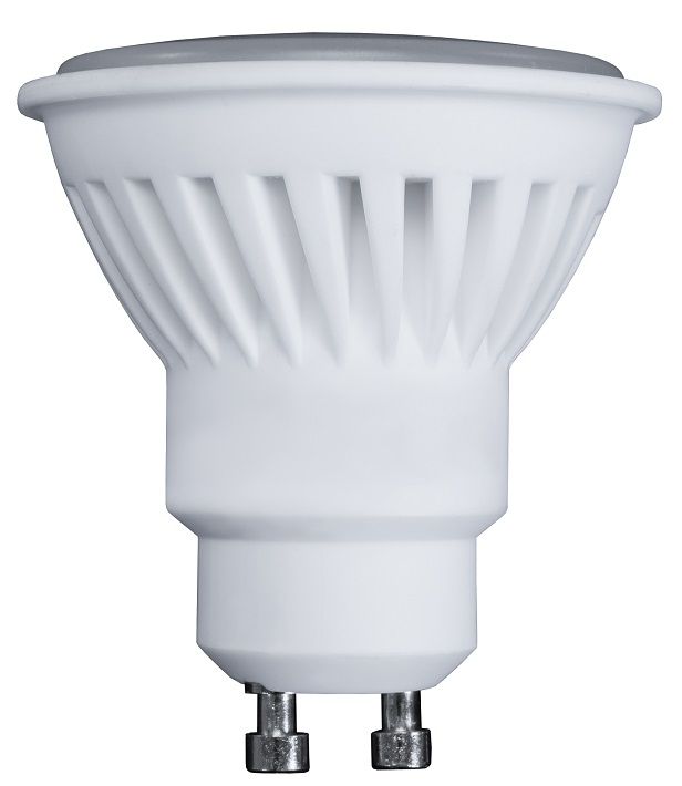 Lampada LED Cerâmica 220V GU10 10W Branco F. 6000K 900Lm