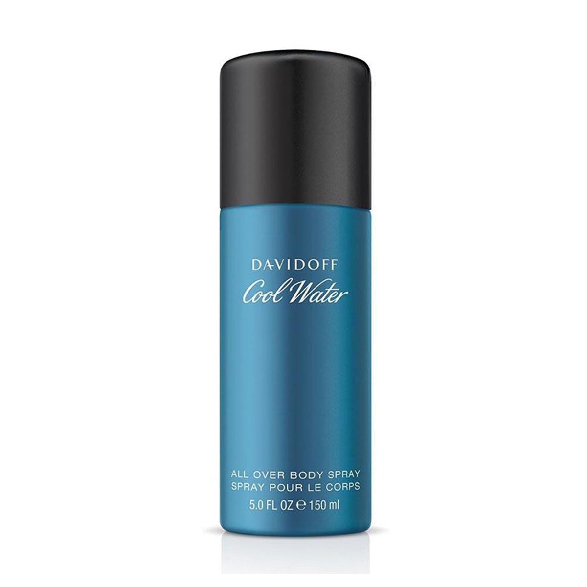 Desodorizante Spray Cool Water All Over Body Spray Davidoff 150ml