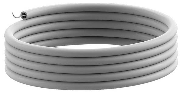 Tubo Liso Maleável ERM GRIS c/ Guia 32mm (metro)
