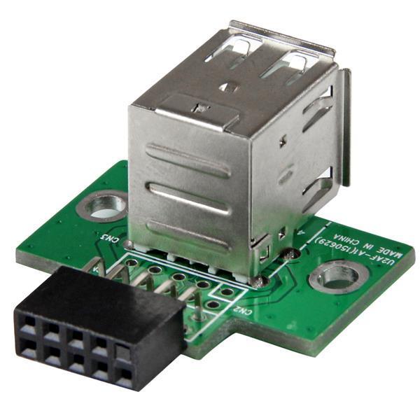 Adaptador de Interface Interna IDC - 2x USB 2.0 - STARTECH