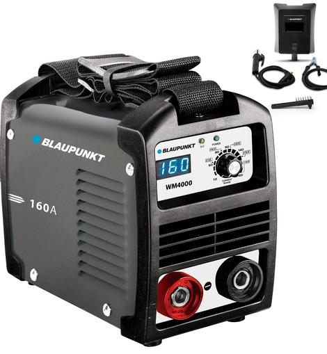 Máquina de Soldar Inverter IGBT Profissional 160A - BLAUPUNKT