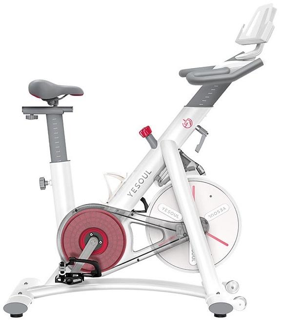 Bicicleta Estática Spinnig Indoor Smart S3 (Branco) - YESOUL