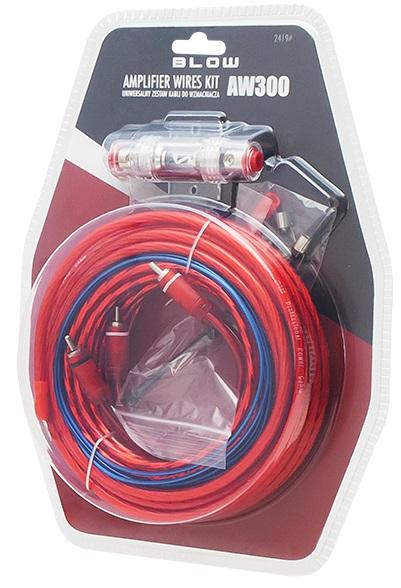 Kit de Instalação de Amplificador p/ Auto-Rádio - BLOW