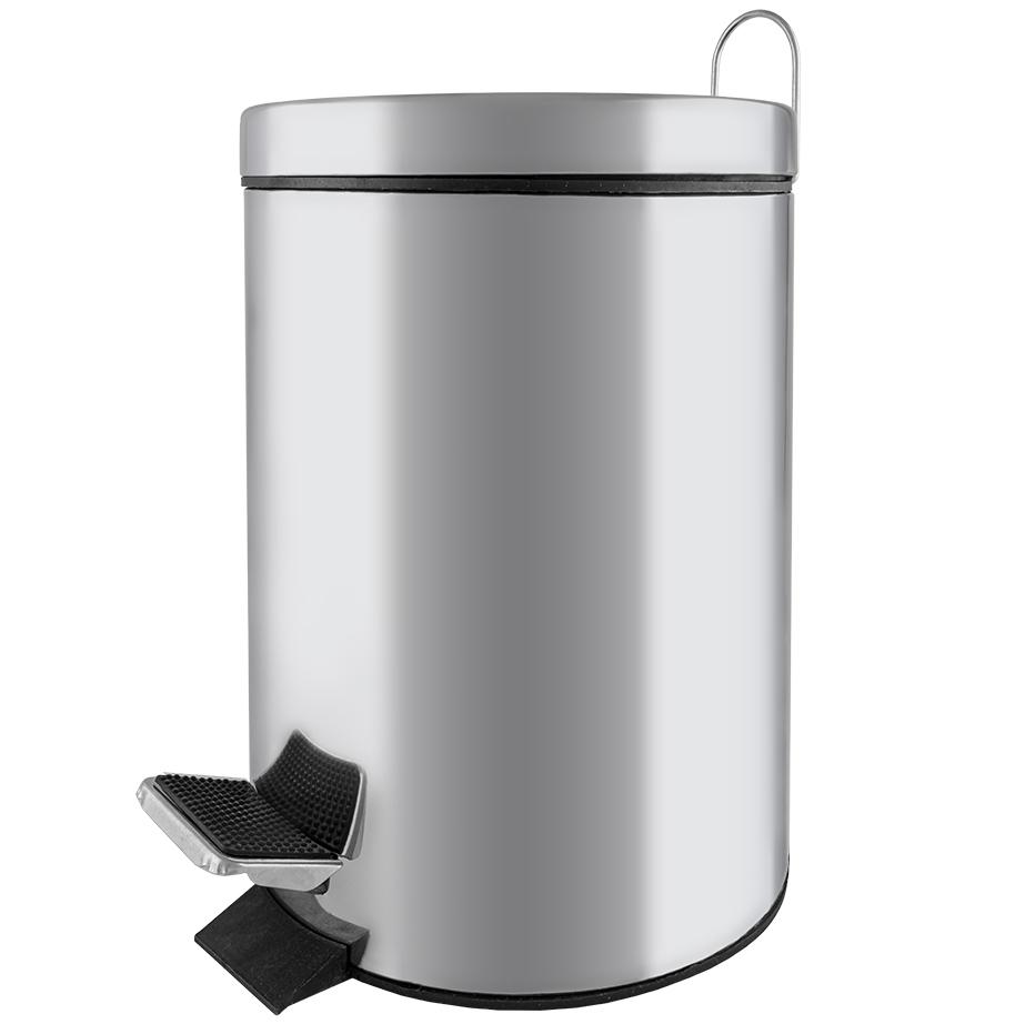 Cesto Inox p/ Lixo (5L) - ProFTC