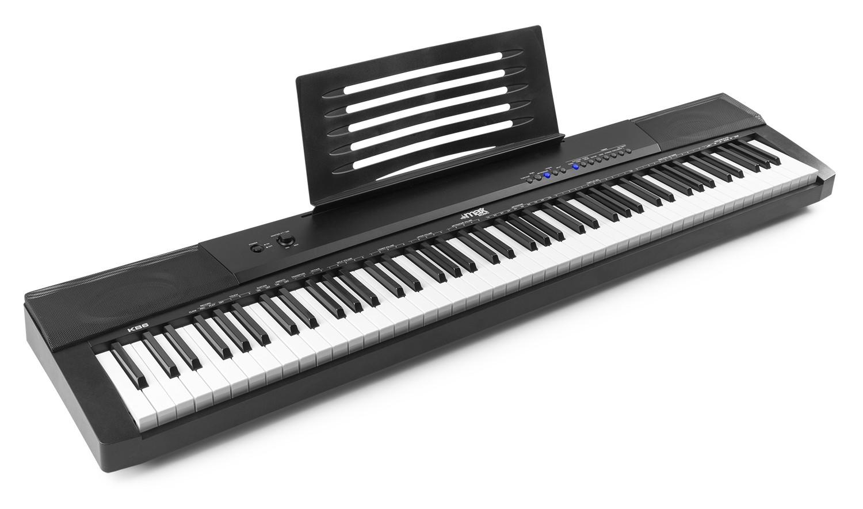 Teclado Musical Eletrónico KB6 com 88 Teclas - MAX