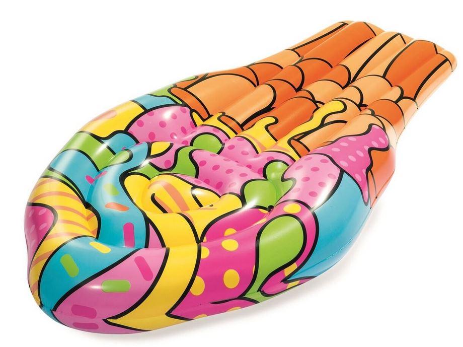 Bóia Inflável Gelado Pop Art (188 x 95 cm) - BESTWAY 43185