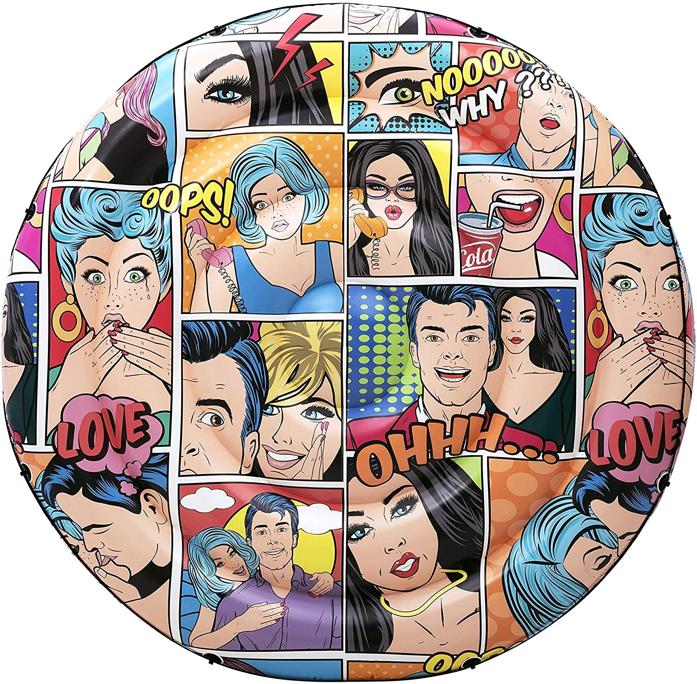 Bóia Inflável Ilha Flutuante Comics (188 cm) - BESTWAY 43264