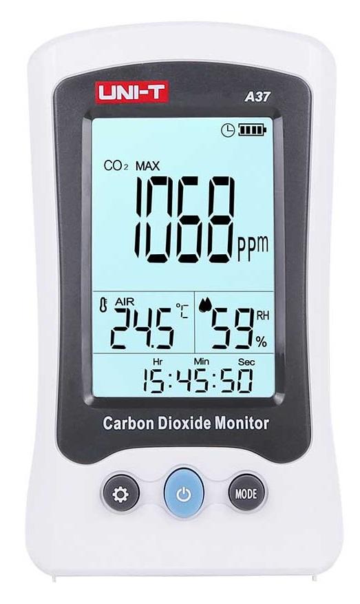 Medidor de CO2 (Dióxido de Carbono) - UNI-T
